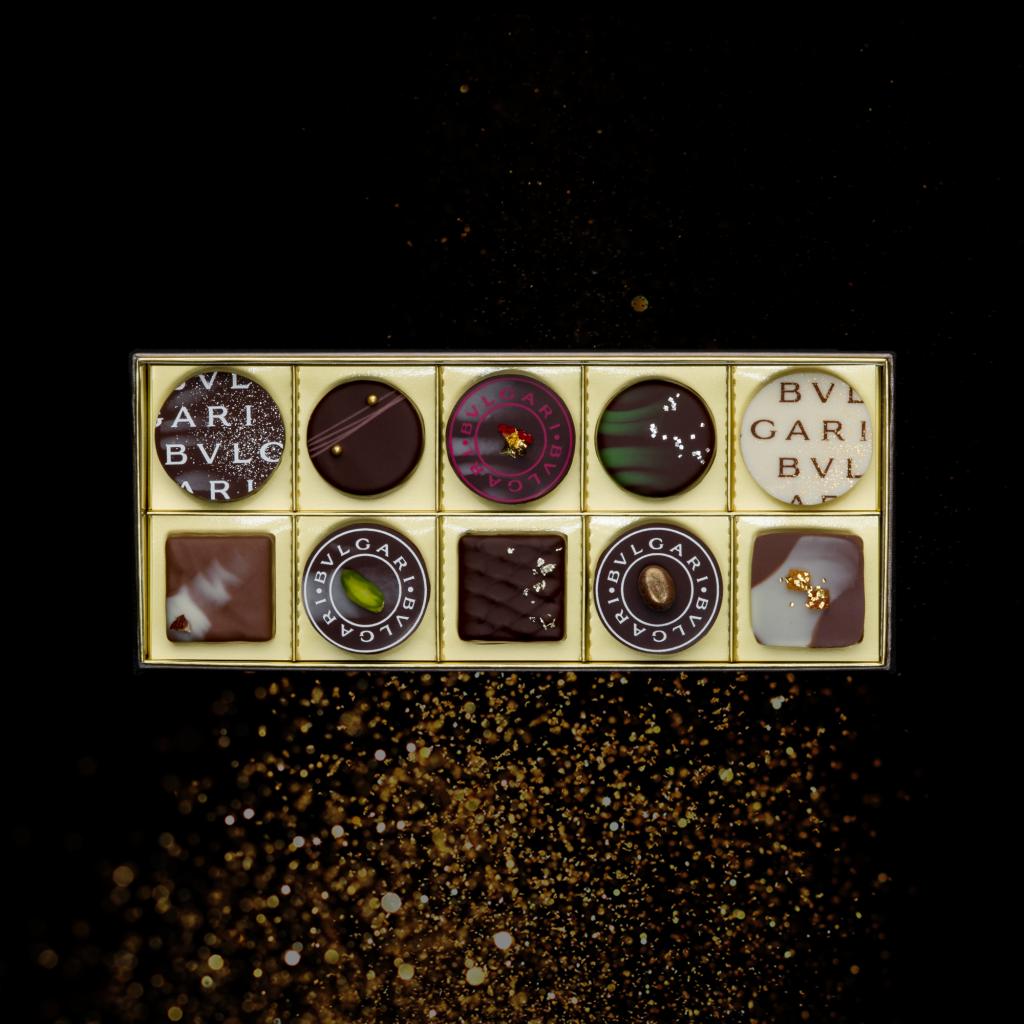 【限定3名様】繊細!贅沢!BVLGARI チョコレート・ジェムズ 10個入