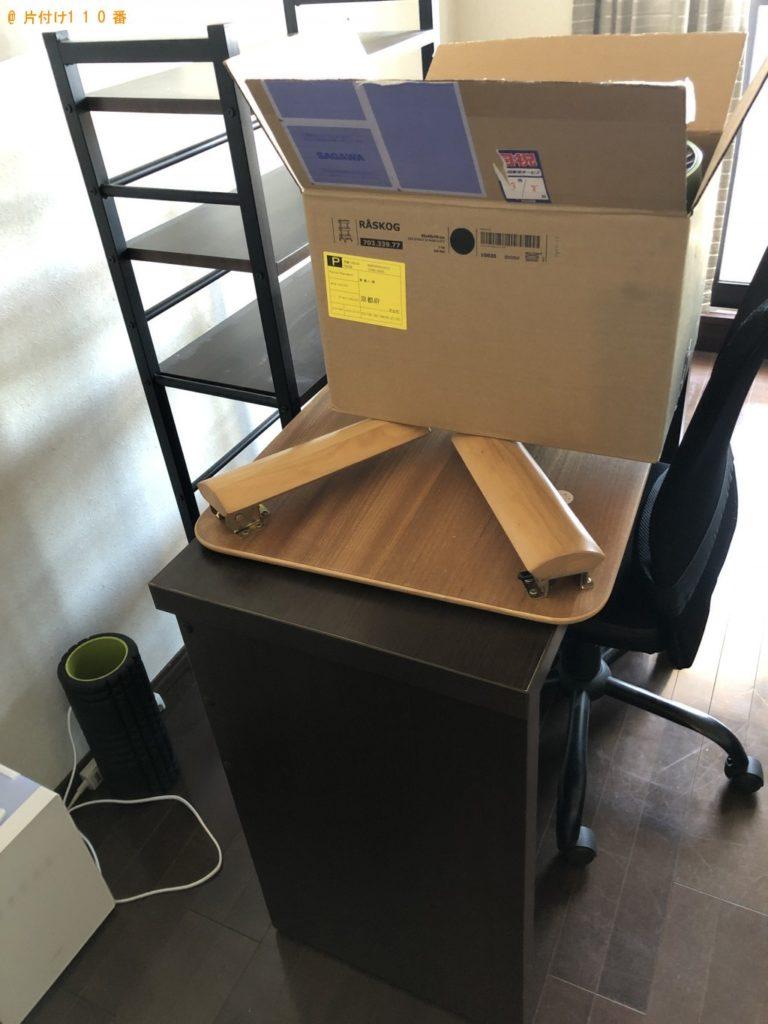 【熊野市】本棚、椅子、サーキュレーターの回収・処分ご依頼