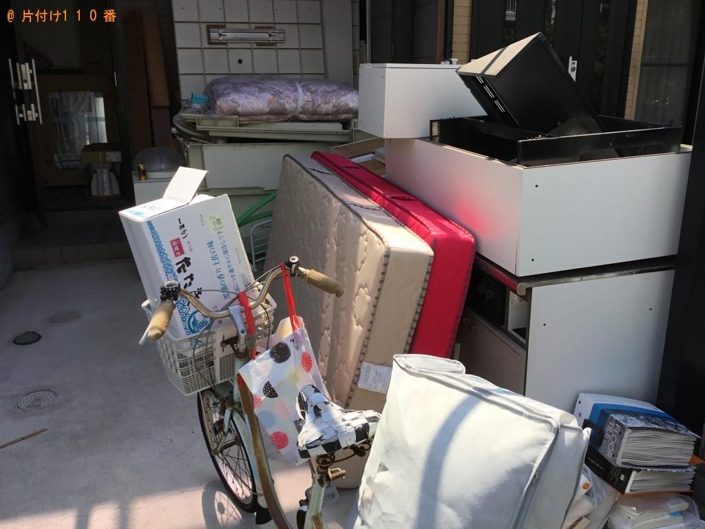 【伊勢市】自転車、マットレス、ドア等の回収・処分ご依頼
