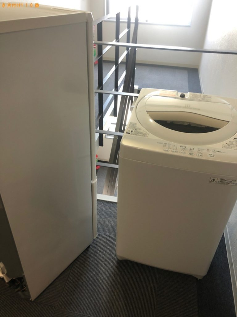 【菰野町】冷蔵庫、洗濯機の回収・処分ご依頼 お客様の声