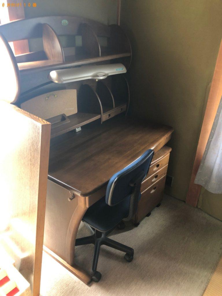 【東員町】タンス、食器棚、学習机、鏡台、椅子の回収・処分ご依頼