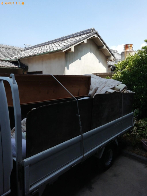 【伊勢市】遺品整理に伴いタンス、ハンガーラック、布団等の回収・処分ご依頼