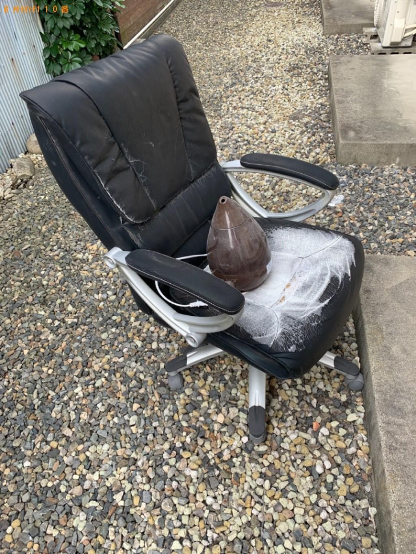 【四日市市】椅子、加湿器の回収・処分ご依頼 お客様の声