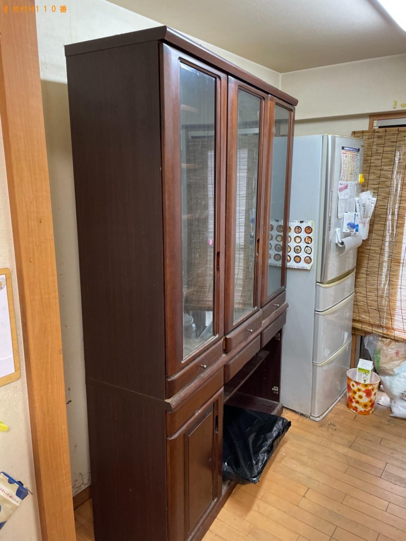【伊勢市】食器棚の回収・処分ご依頼 お客様の声
