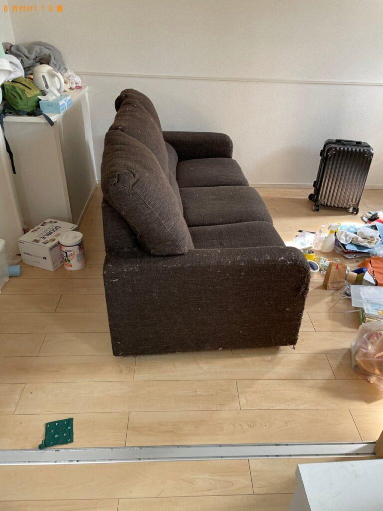 食器棚、ソファー、洗濯機の回収・処分ご依頼 お客様の声