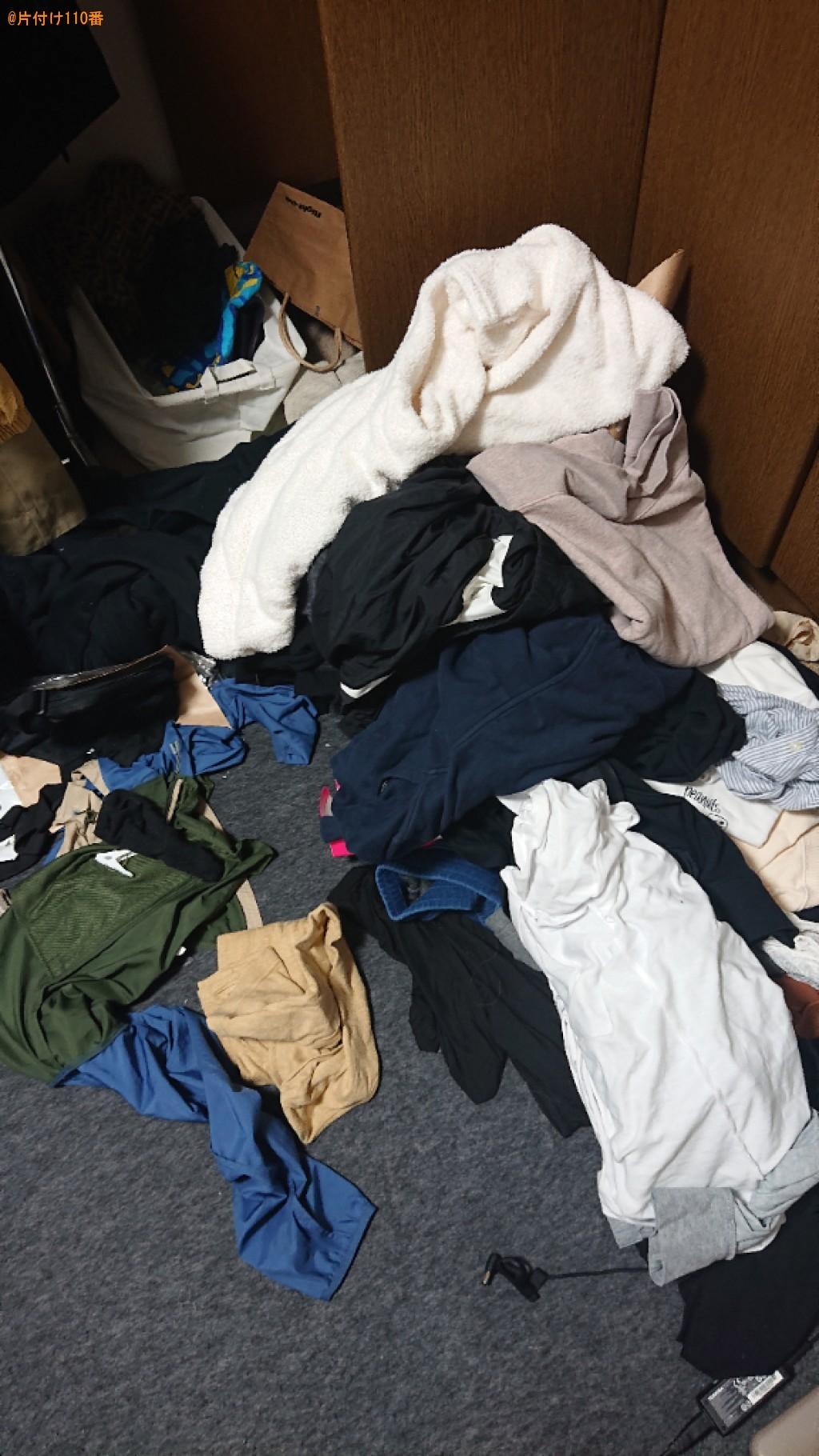 引っ越しの荷物(主に衣類、ダンボール)を畳んでまとめる作業ご依頼